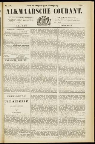 Alkmaarsche Courant 1891-12-11