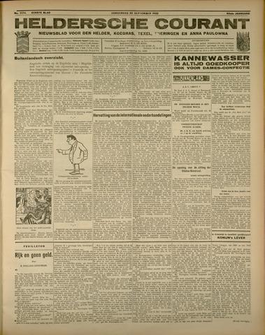 Heldersche Courant 1932-09-22