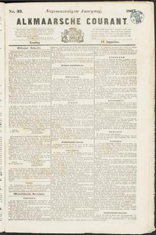 Alkmaarsche Courant 1867-08-18