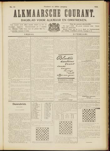 Alkmaarsche Courant 1909-02-19