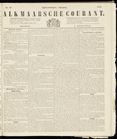 Alkmaarsche Courant 1873-08-03