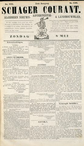 Schager Courant 1881-05-08