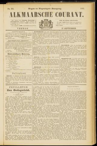 Alkmaarsche Courant 1897-09-17