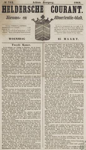 Heldersche Courant 1868-03-25