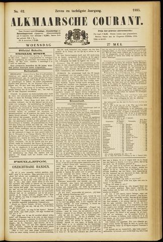 Alkmaarsche Courant 1885-05-27