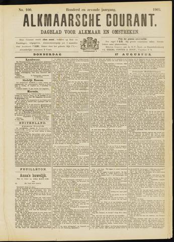 Alkmaarsche Courant 1905-08-17