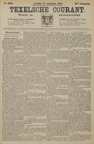 Texelsche Courant 1911-08-13