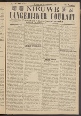 Nieuwe Langedijker Courant 1927-12-22