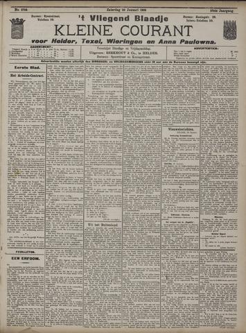 Vliegend blaadje : nieuws- en advertentiebode voor Den Helder 1909-01-30