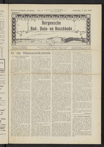 Bergensche bad-, duin- en boschbode 1949-07-02