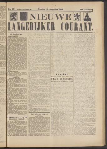Nieuwe Langedijker Courant 1925-08-18