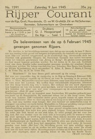 Rijper Courant 1945-06-09