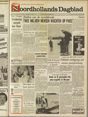 Noordhollands Dagblad : dagblad voor Alkmaar en omgeving 1967-05-12
