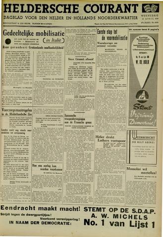 Heldersche Courant 1939-04-12