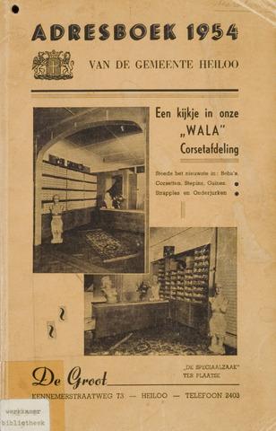 Adresboek van Heiloo 1954-01-01