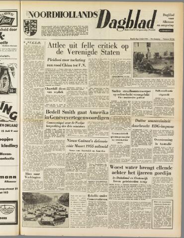 Noordhollands Dagblad : dagblad voor Alkmaar en omgeving 1954-07-15