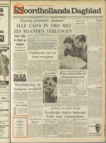 Noordhollands Dagblad : dagblad voor Alkmaar en omgeving 1968-05-21
