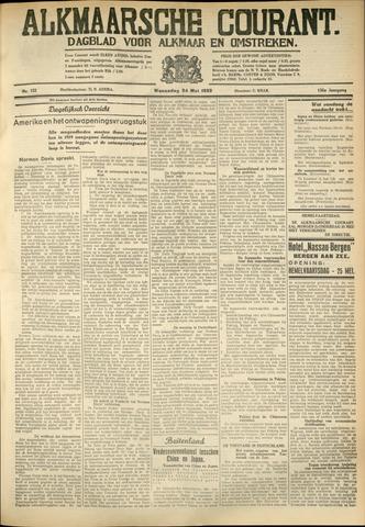 Alkmaarsche Courant 1933-05-24