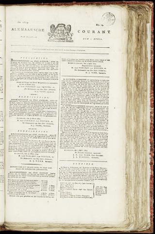 Alkmaarsche Courant 1819-04-05