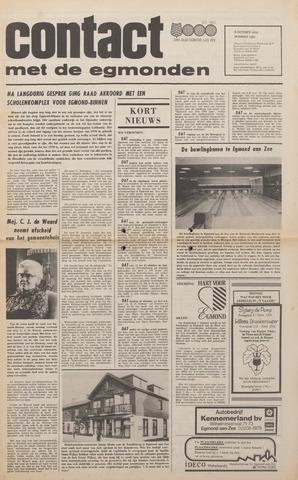 Contact met de Egmonden 1976-10-06