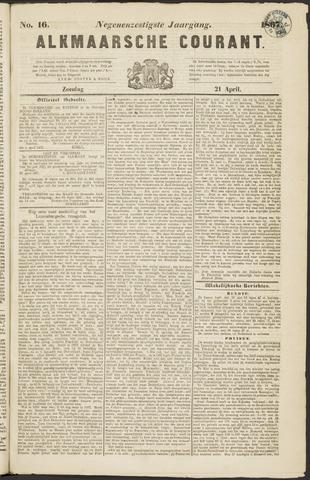 Alkmaarsche Courant 1867-04-21