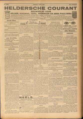 Heldersche Courant 1924-04-01