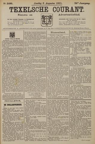 Texelsche Courant 1911-08-06