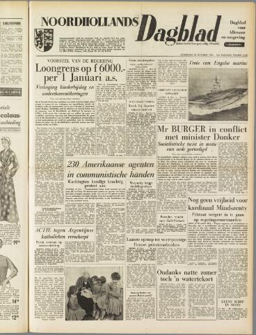 Noordhollands Dagblad : dagblad voor Alkmaar en omgeving 1954-11-25