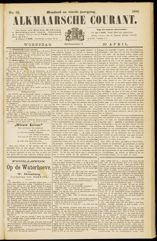 Alkmaarsche Courant 1902-04-30