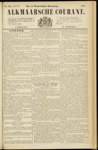 Alkmaarsche Courant 1894-08-31