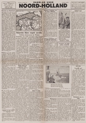 Dagblad Noord-Holland, Schager editie 1944-03-07