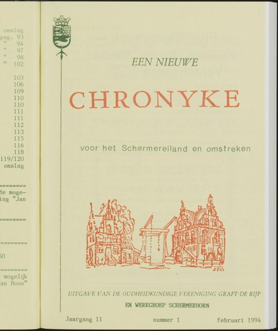 Een Nieuwe Chronyke van het Schermereiland 1994-02-01