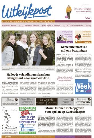 Uitkijkpost : nieuwsblad voor Heiloo e.o. 2011-02-09