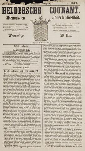 Heldersche Courant 1872-05-29