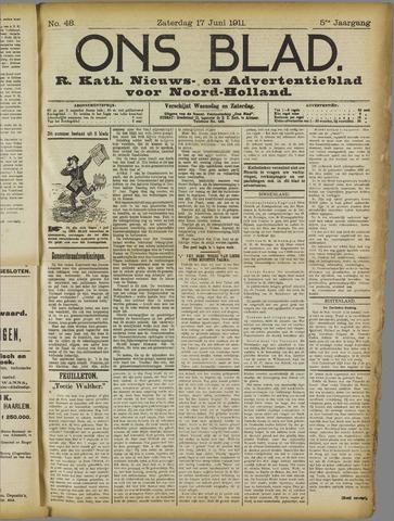 Ons Blad : katholiek nieuwsblad voor N-H 1911-06-17