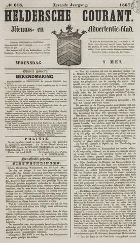 Heldersche Courant 1867-05-01