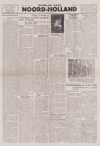 Dagblad Noord-Holland, Schager editie 1943-10-23
