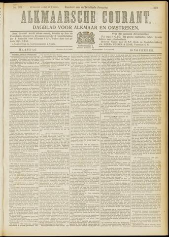 Alkmaarsche Courant 1919-11-10