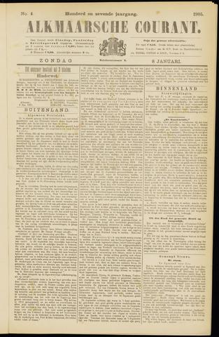 Alkmaarsche Courant 1905-01-08