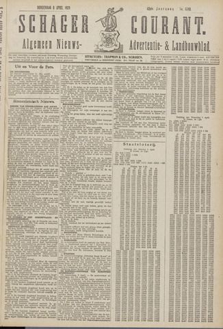 Schager Courant 1920-04-08
