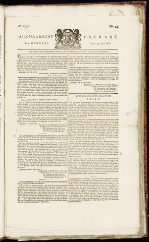 Alkmaarsche Courant 1831-06-13
