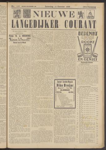 Nieuwe Langedijker Courant 1926-10-23