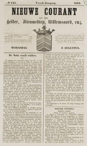 Nieuwe Courant van Den Helder 1862-08-06
