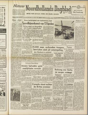 Nieuw Noordhollandsch Dagblad : voor Alkmaar en omgeving 1950-12-11