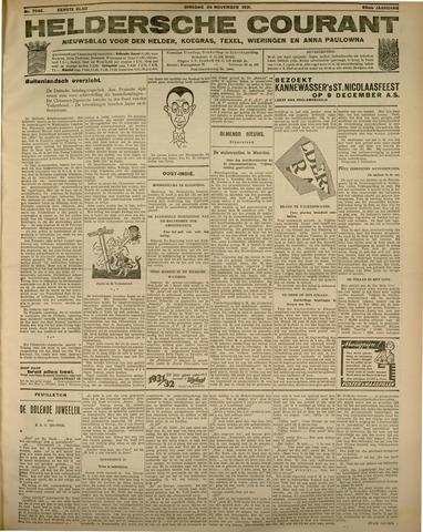 Heldersche Courant 1931-11-24
