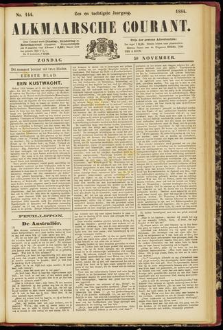 Alkmaarsche Courant 1884-11-30