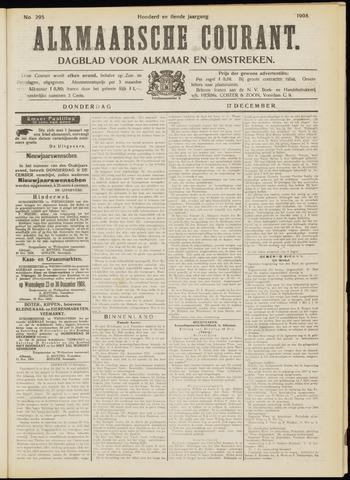 Alkmaarsche Courant 1908-12-17