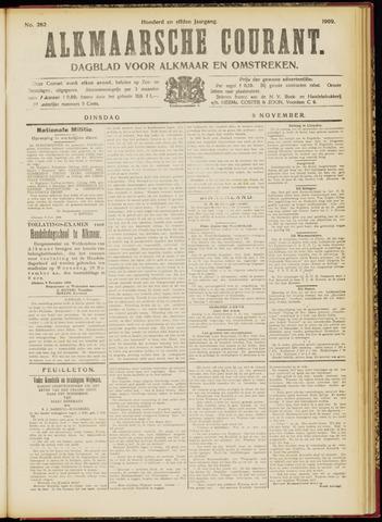 Alkmaarsche Courant 1909-11-09