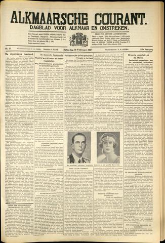 Alkmaarsche Courant 1937-02-13