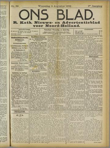 Ons Blad : katholiek nieuwsblad voor N-H 1909-08-04